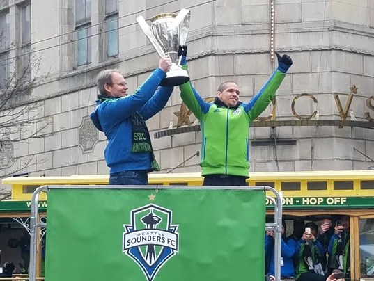 Sounders' parade not Seahawk-sized, but still special