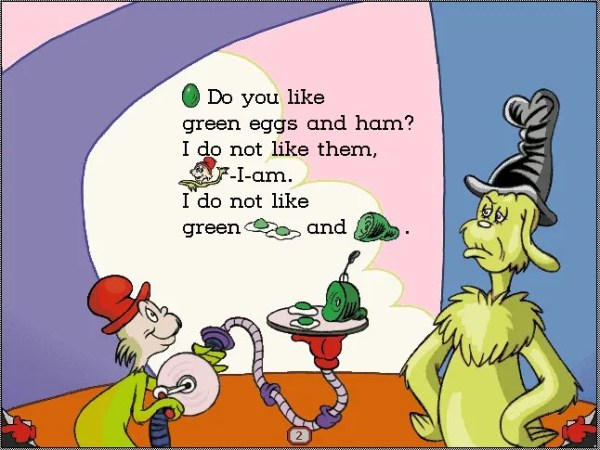 green eggs and ham # 8