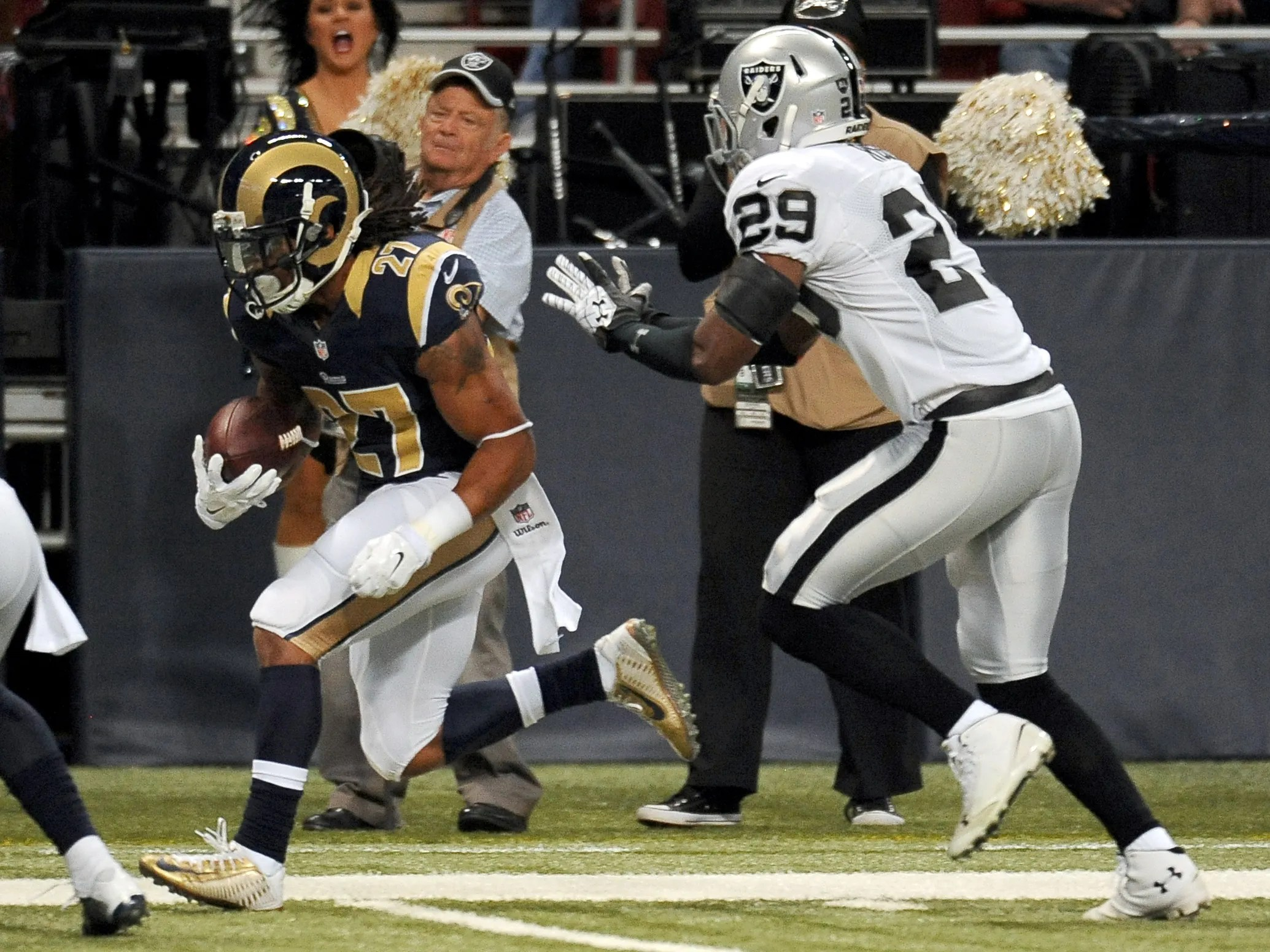 RB Mason making his mark for Rams