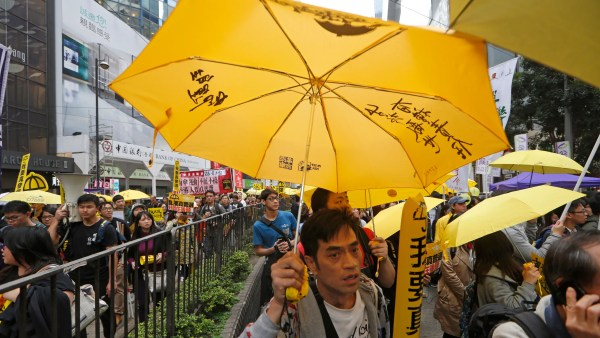 Pro-democracy protesters return to Hong Kong streets