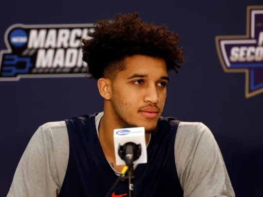 Virginia Cavaliers forward Isaiah Wilkins addresses