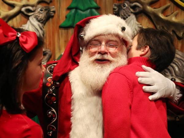 Santa doesn't care if you're naughty or nice