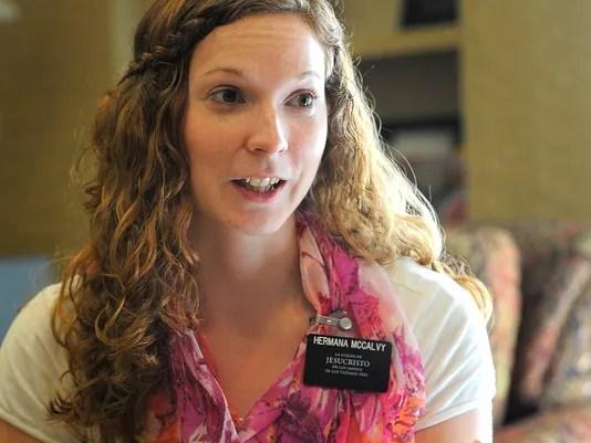 몰몬 교회의 자매 선교사가 증가 추세에 있다. (사진 Larry McCormack, The Tennessean)