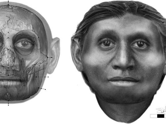 Hobbit face reconstruction