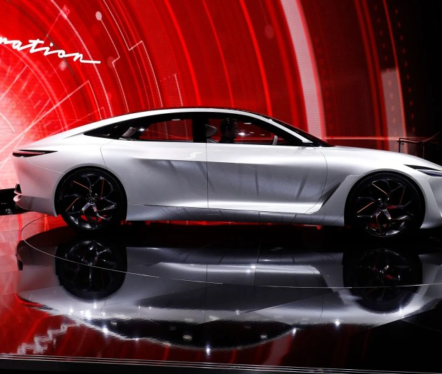 Infiniti Qx Inspiration Electric Suv Concept Vehicle Revealed Ahead Of Detroit Auto Show