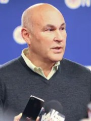 Union leader Anthony Bottalico at a news conference