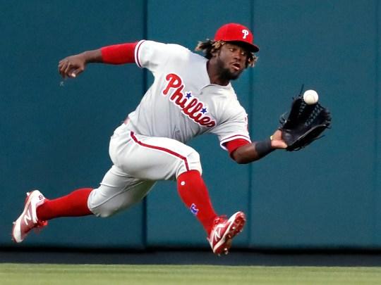 Philadelphia Phillies center fielder Odubel Herrera
