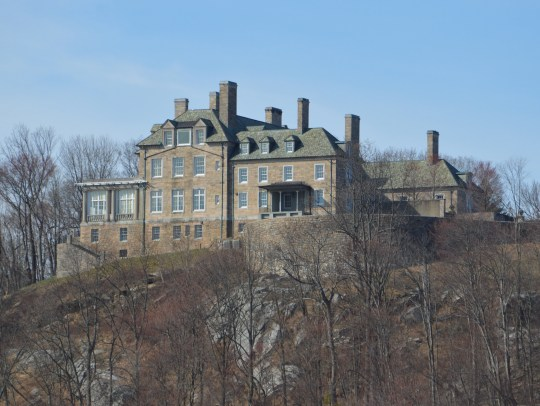 Donald Trump's Seven Springs mansion looms over Byram Lake in North Castle