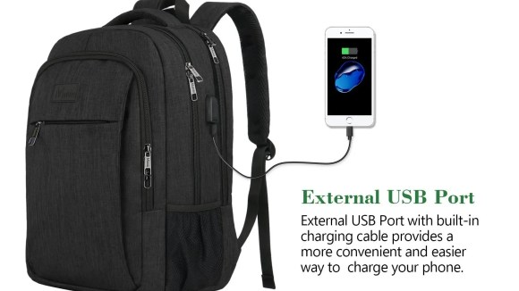 This Matein backpack works for business or school