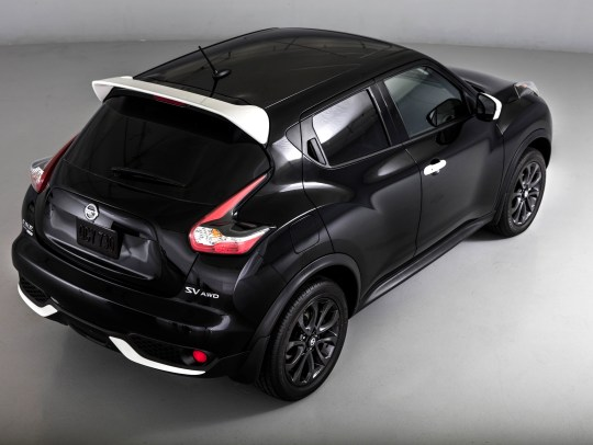 The 2017 Nissan Juke Black Pearl Edition.