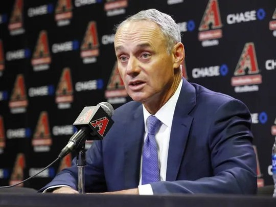 MLB Commissioner Rob Manfred takes sides in the tiff