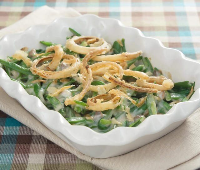 Green Bean Casserole Is One Of The Most Beloved Thanksgiving