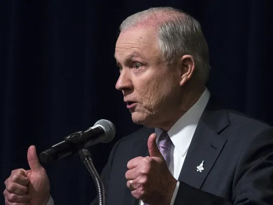 Attorney General Sessions announces new illegal ...