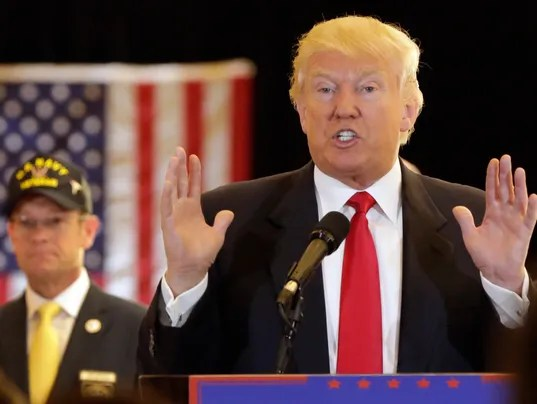 Donald Trump moves more than 110 trademarks to Delaware