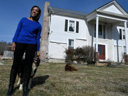 Fawn Weaver is renovating a historic home on the 313-acre