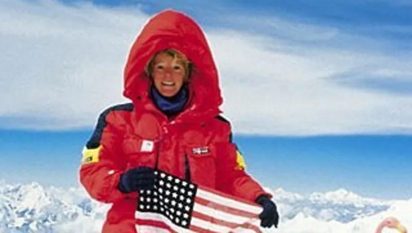 Image result for Stacy Allison climbs mt everest