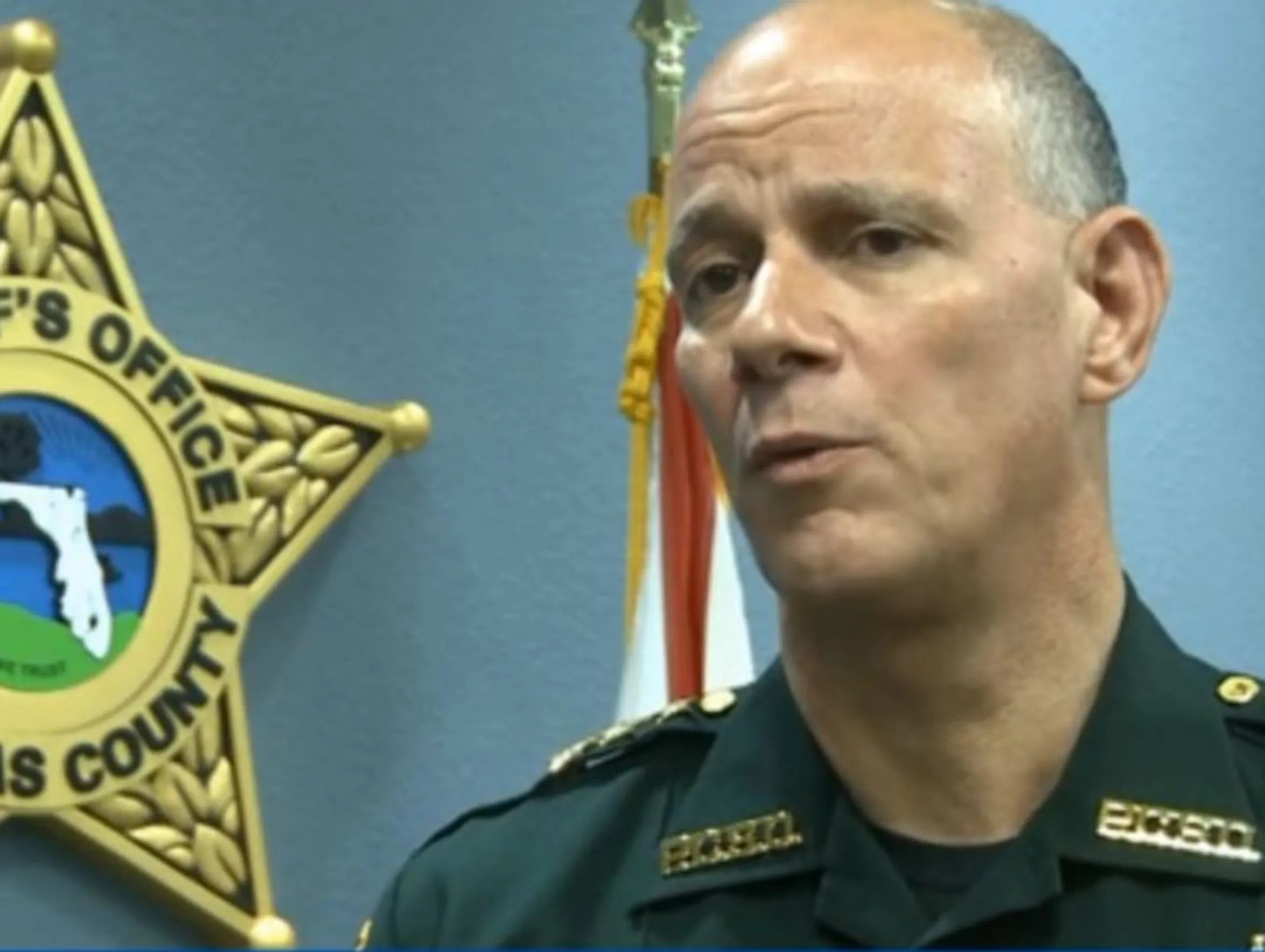 Pinellas Co. Sheriff Bob Gualtieri ended Air Force