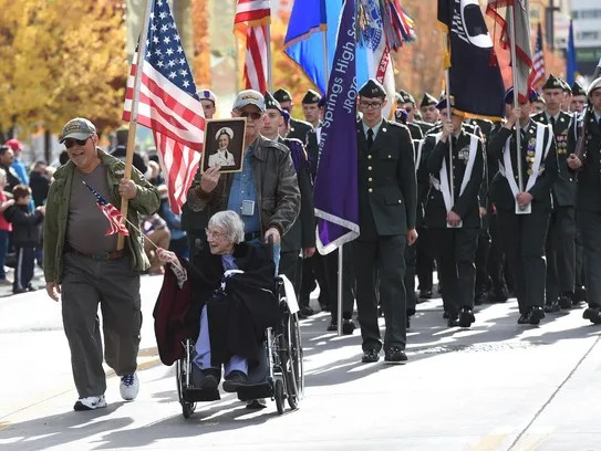 Grandma with Attitude: Don't forget to pay tribute to veterans