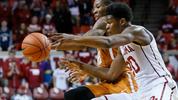 McNeace's double-double helps Sooners beat Longhorns 70-66
