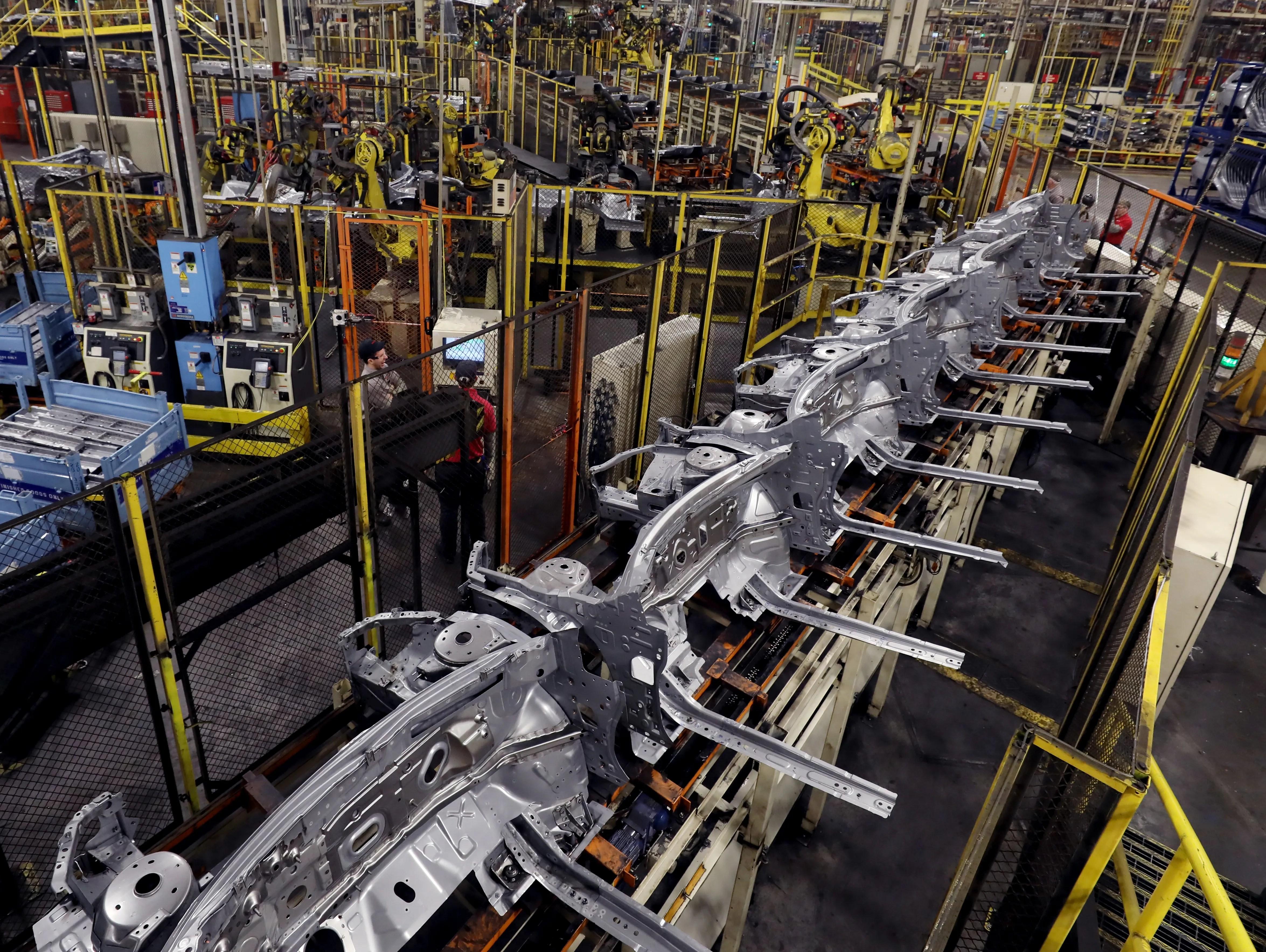 Lobby Truck Smyrna Plant Nissan