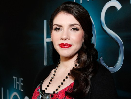 "Author Stephenie Meyer arrives at the LA premiere of ""The Host"" at the ArcLight Hollywood in Los Angeles on March 19, 2013."