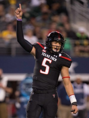 Texas Tech quarterback Pat Mahomes