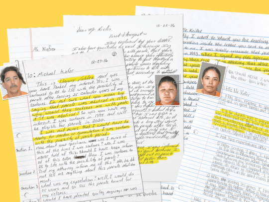 Letters sent to The Republic from Arizona inmates who