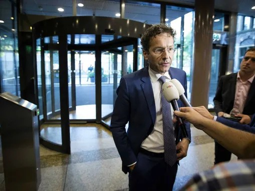 Eurogroup President and Dutch Finance Minister Jeroen