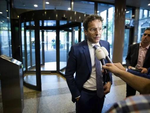 Eurogroup President and Dutch Finance Minister Jeroen