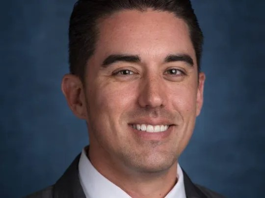 Mesa Councilman Ryan Winkle, 38, was arrested in Tempe