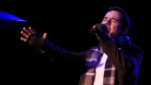 During his performance Friday at Tuacahn Amphitheatre,