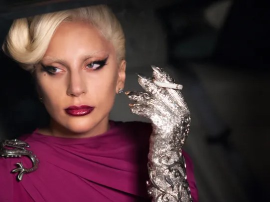 """Lady Gaga as the Countess in """"American Horror Story"""