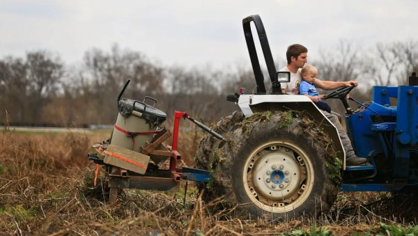 Family helps young farmer face steep odds