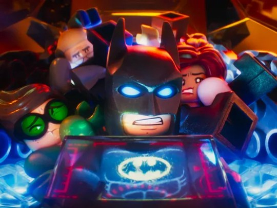 Batman (voiced by Will Arnett) has to overcome his