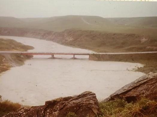 In 1964, a bridge that spanned Birch Creek was destroyed.