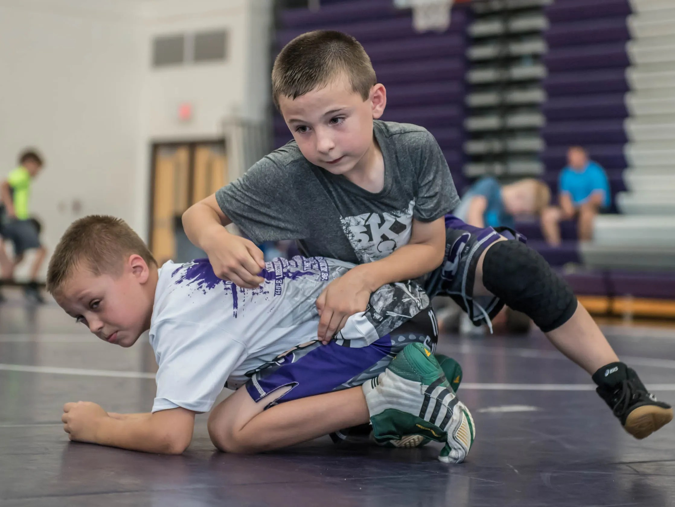 B C Wrestling Camp Offers All American Instruction