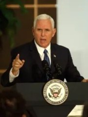 Vice President Pence speaks to the Venezuelan community