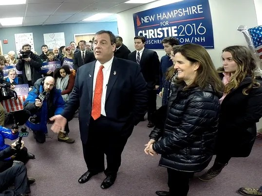 Mixed signals for Chris Christie as N.H. votes