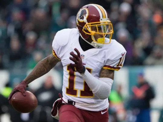 DeSean Jackson looks to be headed out of Washington.