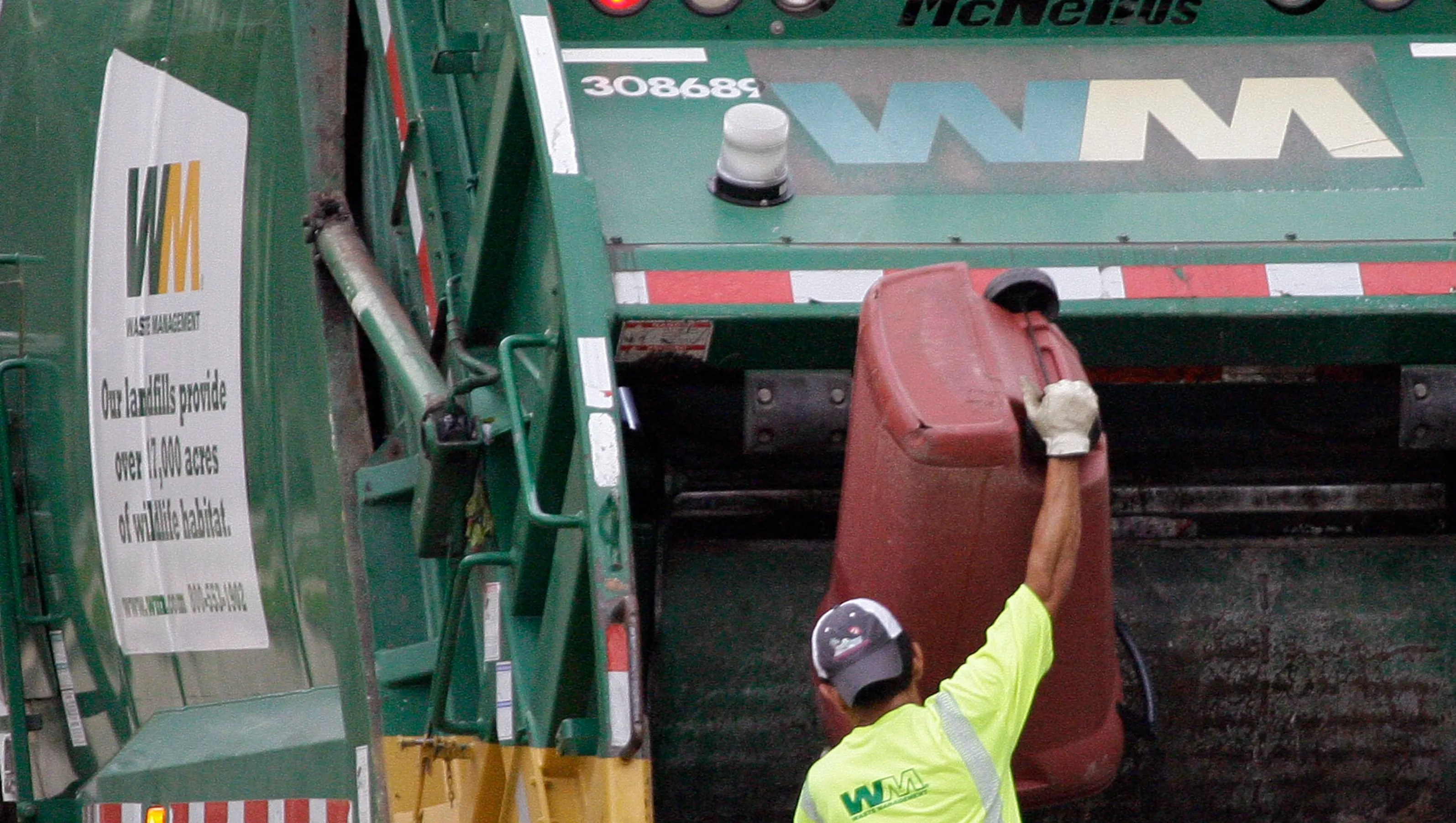 Waste Management Open Scores