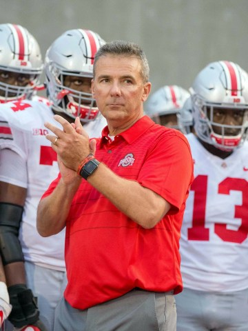 Ohio State coach Urban Meyer and his team prepares