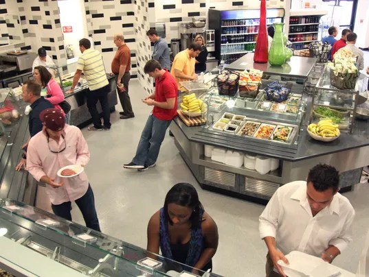 Companies Keep Employees Happy With On Site Cafeterias