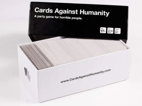 If you already have a Card Against Humanity, see their amazing card package collection.
