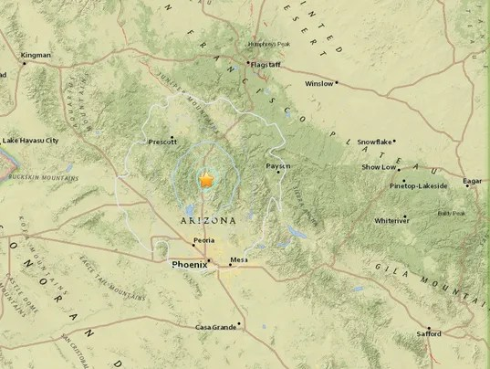 4.1-magnitude earthquake Arizona