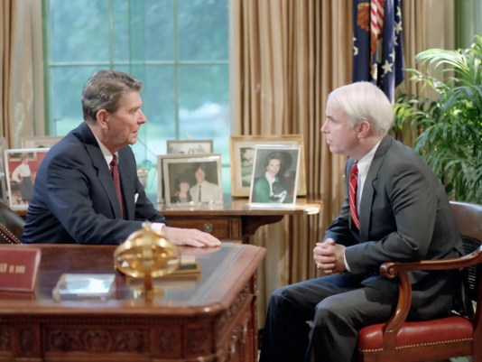Image result for McCain and Reagan