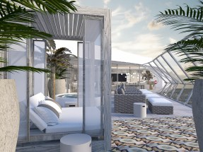 Afbeeldingsresultaat voor celebrity edge iconic suite