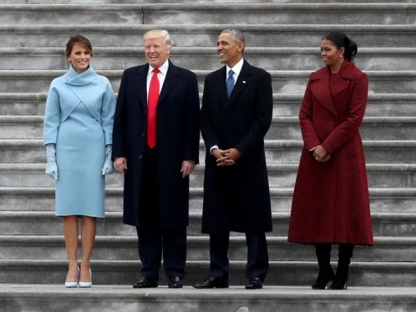 Donald Trump's inauguration ceremonies