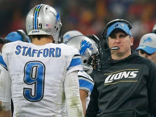 Image result for jim bob cooter matthew stafford