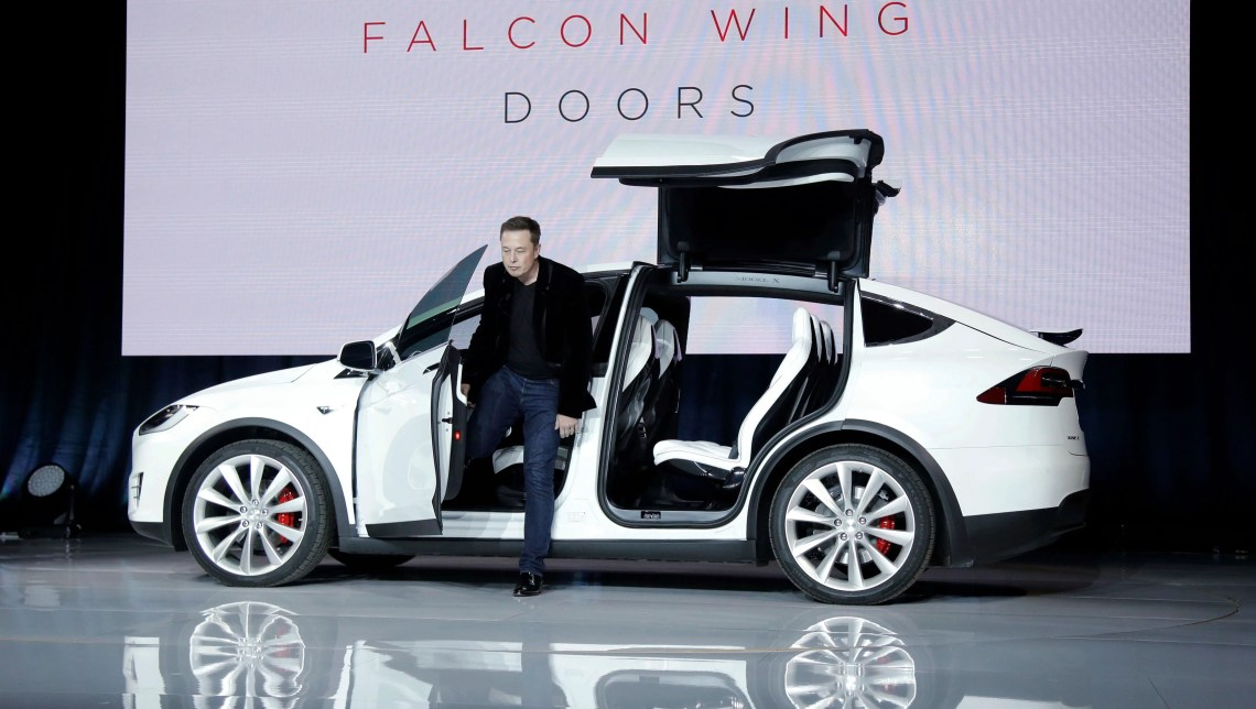 First drive: Tesla Model X is an awesome way to spend $132000