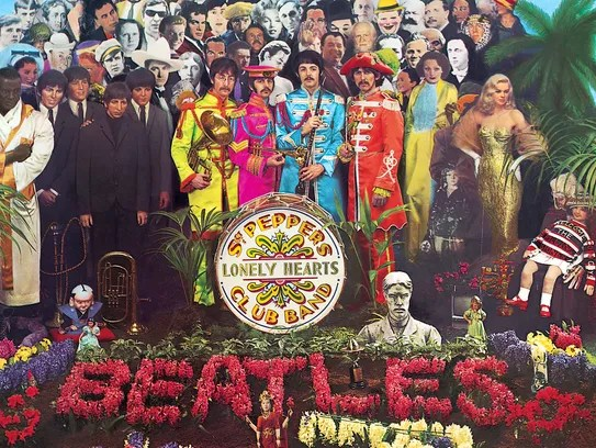 "This is the cover of the Beatle's album ""Sgt. Pepper's"